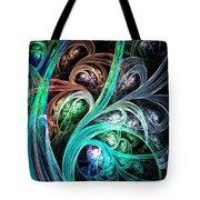 Night Phoenix Tote Bag