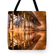 Night Run IIi Patriotic  Tote Bag
