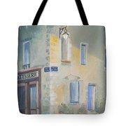 Night Scene In Arles France Tote Bag