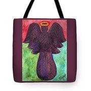 Night Shift Angel Tote Bag