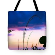 Night Silhouette Tote Bag