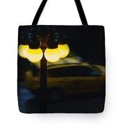 Night Taxi Tote Bag