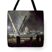 Night Time Frac Tote Bag