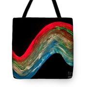 Night Time Seastorm Tote Bag