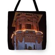 Night Tower Tote Bag