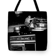 Night Traffic Stop Tote Bag by Bob Orsillo