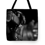 Night Traffic Stop Two Tote Bag