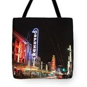 Night Vibes Tote Bag