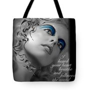 Night Vision With Text Tote Bag