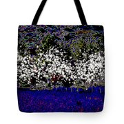 Night With Almond Flowers Tote Bag