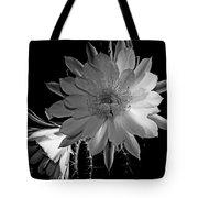 Nightblooming Cereus Cactus Flower Tote Bag