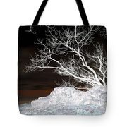 Nightfall Negative Tote Bag