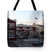 Nightfall Over Monterey Cannery Row California 5d25146 Tote Bag