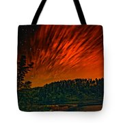 Nightfire Tote Bag