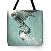 Nighthawk Tote Bag by Eric Fan