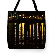 Nightime Reflections Tote Bag