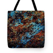 Nightlife - Abstract Panorama Tote Bag