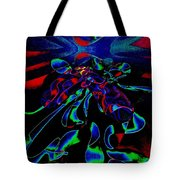 Nightly Expression Of Rhythms Tote Bag