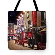 Nights In The Temple Bar Tote Bag