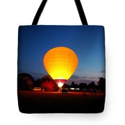 Night's Sunshine Tote Bag