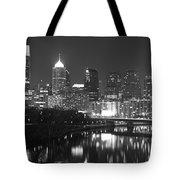 Nighttime In Philadelphia Tote Bag