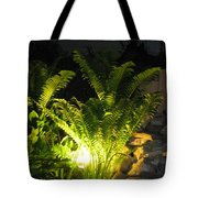 Nighttime Reflection Tote Bag