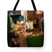 Nighttime Vendor Tote Bag