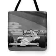 Niki Lauda. 1984 British Grand Prix Tote Bag