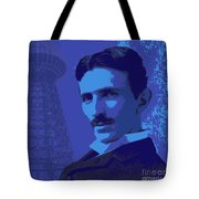 Nikola Tesla #2 Tote Bag