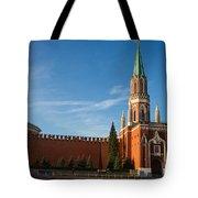 Nikolskaya - St. Nicholas - Tower Of The Kremlin Tote Bag