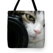 Nikon Kitty Tote Bag by Andee Design
