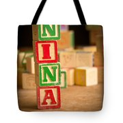 Nina - Alphabet Blocks Tote Bag