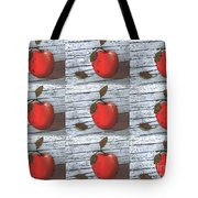 Nine Apples Tote Bag