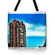 Nine Mile Tower Tote Bag