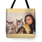 Nine Stars Woman / Wise Counsel Tote Bag