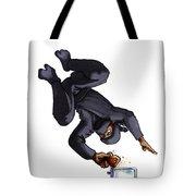 Ninja Making Toast Tote Bag