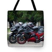 Ninja Zx14 Tote Bag