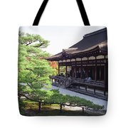 Ninna-ji Temple Garden - Kyoto Japan Tote Bag