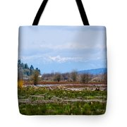 Nisqually Delta Of The Nisqually National Wildlife Refuge Tote Bag