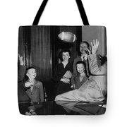 Nixon Catching Football Tote Bag