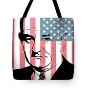 Lyndon Johnson Tote Bag