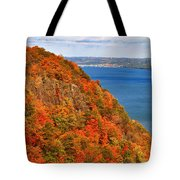 N.j. Palisades Awesome Autumn  Tote Bag
