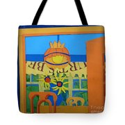 Nj Sunflowers Tote Bag
