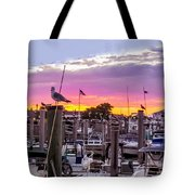 Nj's Sunset Tote Bag