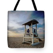 No 4 Lifeguard Station Tote Bag
