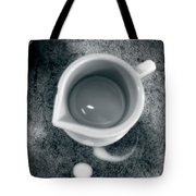 No Cream For My Coffee Tote Bag