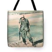 No Day At The Beach Tote Bag