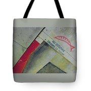 No Dumping - Drains To Ocean No 1 Tote Bag