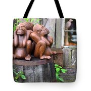 No Evil Tote Bag