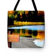 No Fishing II Tote Bag
